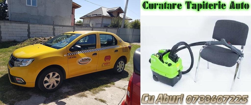 curatare spalare tapiterie interior auto cu aburi